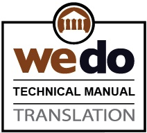 Technical manuals translation services