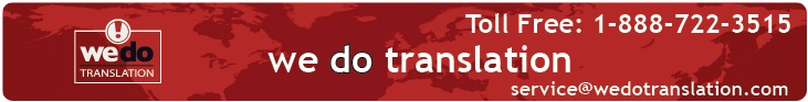 We Do Translation Document Translation